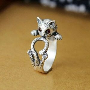Wrap Around Kitty Cat Ring